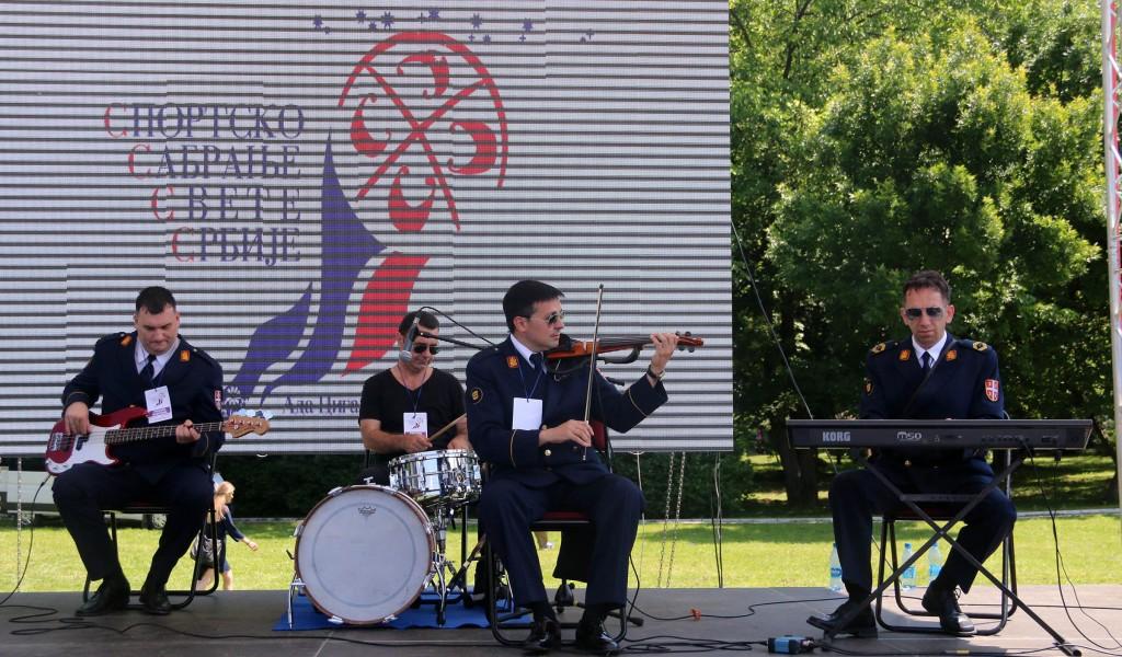 Stanislav Binicki Artistic Ensemble on Sports Assembly