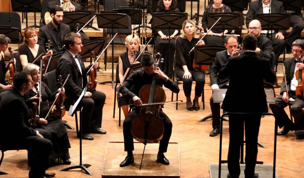 Koncert mladog violončeliste Petra Pejčića i Ansambla Binički