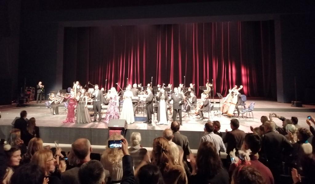 Ансамбл Бинички на концерту Отмено