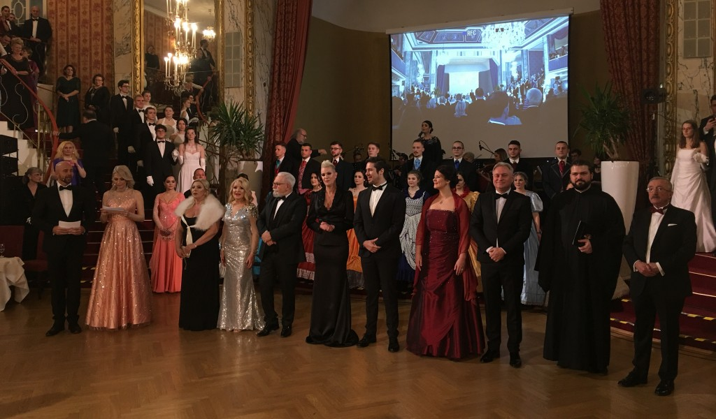 Ансамбл Бинички на Светосавском балу у Бечу