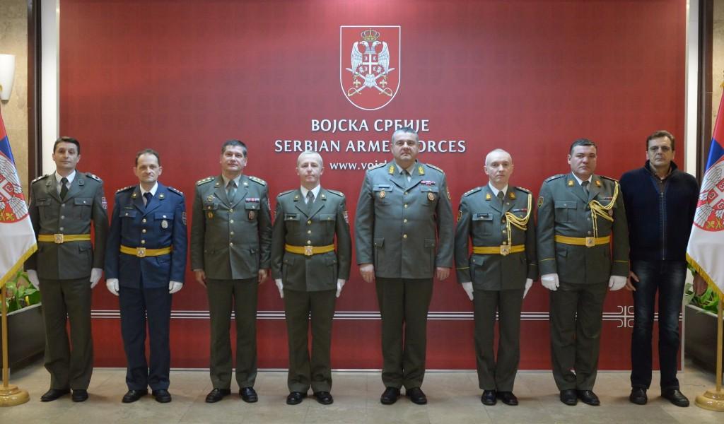 Начелник Генералштаба честитао празник припадницима музичке службе