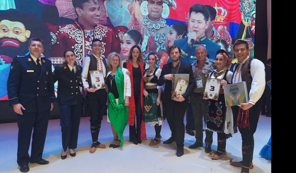 """Три награде за Србију у дисциплини """"Армија културе"""" на Међународним војним играма"""