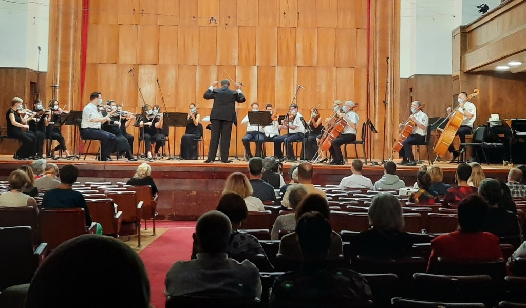 Bach 335 the first concert in Kolarac after six months