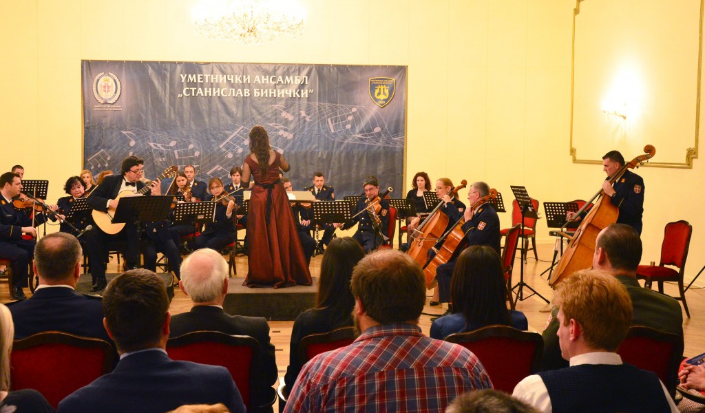 Concert Giants of the Spanish Music Writing at the Central Military Club