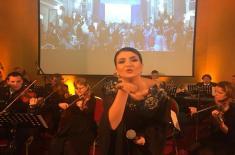 """Ansambl """"Binički"""" na Svetosavskom balu u Beču"""