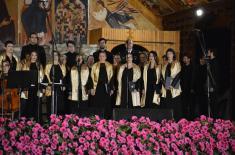 Ансамбл и Хор наступили на духовним свечаностима Епархије милешевске