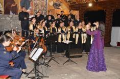 Ansambl i Hor nastupili na duhovnim svečanostima Eparhije mileševske