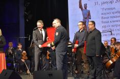 "Recognitions for the Artistic Ensemble ""Stanislav Binički"""