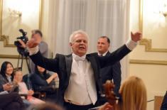 """Ансамбл """"Бинички"""" наступио на отварању Фестивала словенске музике"""