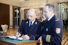 Ђорђевић се уписао у књигу жалости у Амбасади Русије