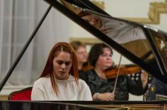 "A concert ""An Evening of Romanticism"" at the Central Military Club"