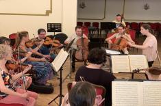 Музичка радионица са студентима Факултета музичке уметности