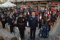 Концерт српског и британског војног оркестра на отвореном