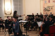 "Concert ""Our Children"" Held this Evening in Central Military Club"
