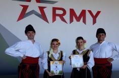Четири награде представницима Србије на Фестивалу националне културе у Москви