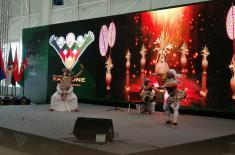 Kвартет Уметничког ансамбла на Фестивалу националне културе у Москви